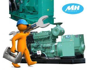 Bảo trì máy phát điện sau quá trình vận hành