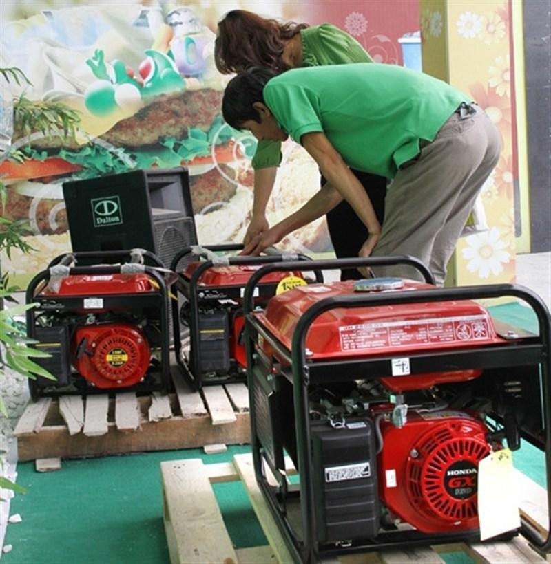 Bảo trì máy phát điện trước khi sử dụng
