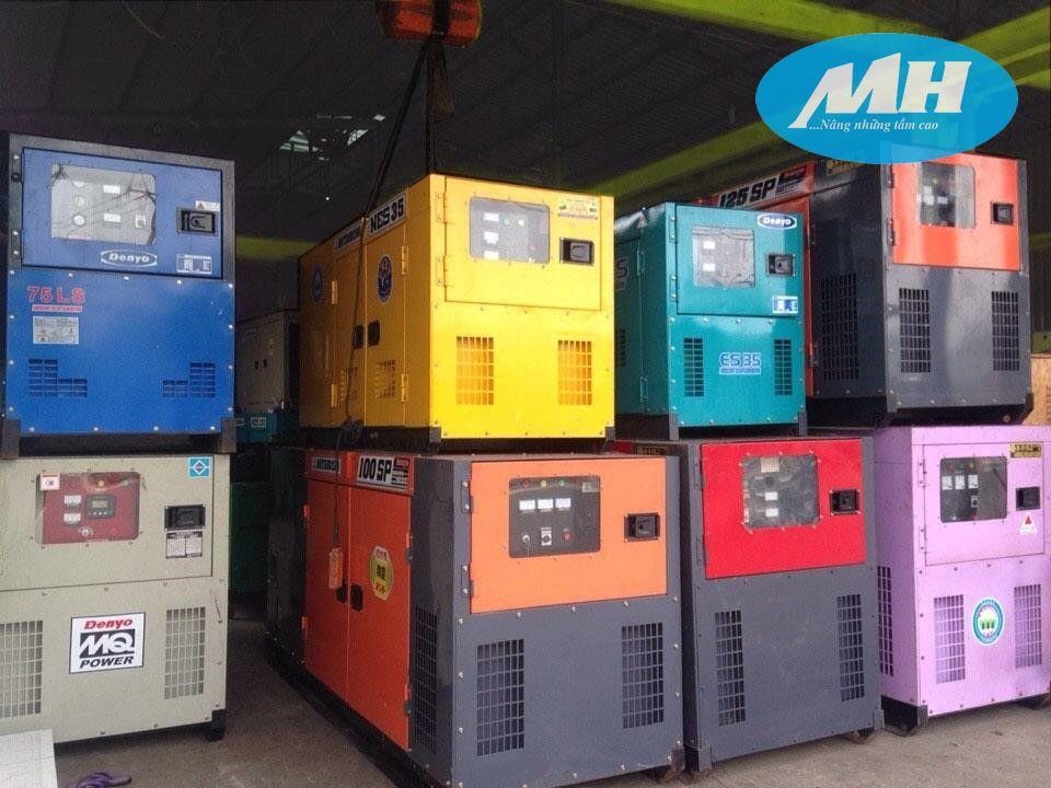 Dịch vụ máy phát điện chọn gói tại MH Rental