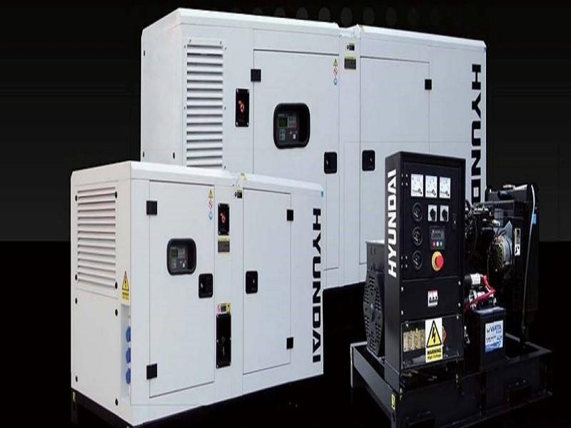 Máy phát điện cao cấp của thương hiệu Huyndai