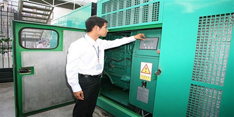 Vận hành máy phát điện cần chuẩn bị về máy móc