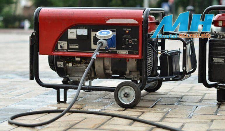 Bảo quản nhiên liệu và bảo dưỡng máy phát điện