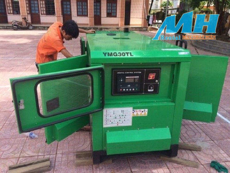 Kiểm tra nhiên liệu của máy phát điện