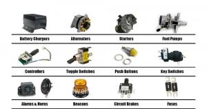 Hãy chú ý tìm hiểu kỹ về các loại phụ tùng xe nâng