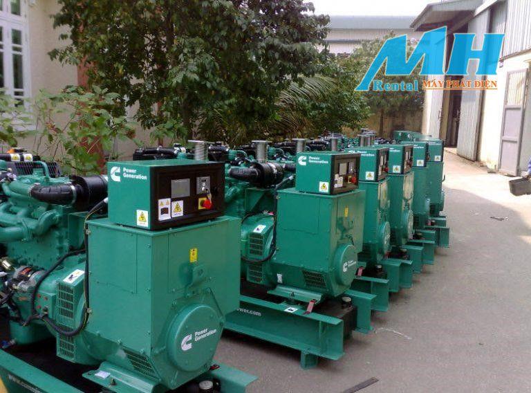 Máy phát điện giải pháp tối ưu cung cấp điện năng khi mất điện